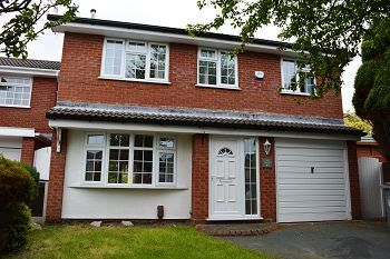 Thumbnail 4 bed detached house to rent in Statham Road, Bidston