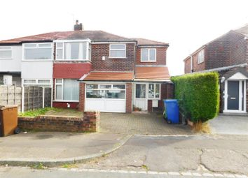 3 bed semi-detached house for sale in Windsor Crescent, Prestwich, Manchester M25