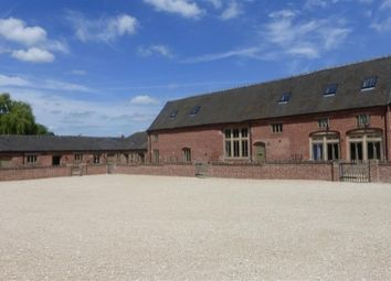 Thumbnail 4 bed barn conversion to rent in Old Hall Lane, Fradley, Lichfield
