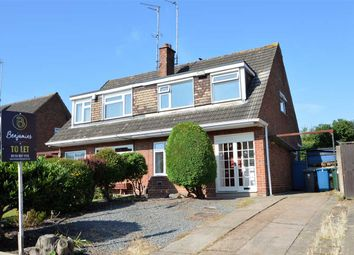 Thumbnail 3 bed semi-detached house to rent in Wolds Drive, Keyworth, Nottingham