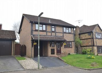 Thumbnail 4 bed detached house for sale in Hawkesworth Drive, Bagshot, Surrey