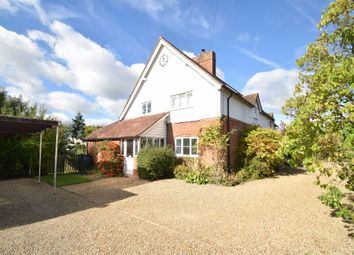 Thumbnail 7 bed detached house to rent in Thame Road, Longwick, Buckinghamshire