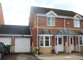 Thumbnail 2 bed semi-detached house for sale in Meadenvale, Parnwell, Peterborough