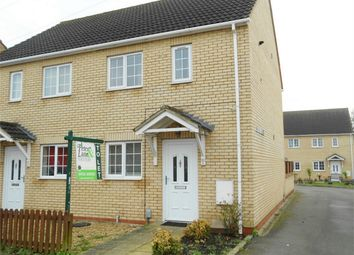 Thumbnail 2 bedroom semi-detached house to rent in Eyebury Road, Eye, Peterborough, Cambridgeshire