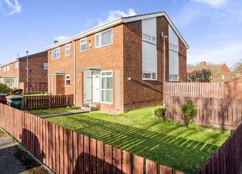 Thumbnail 1 bed semi-detached house for sale in Worsley Close, Wallsend