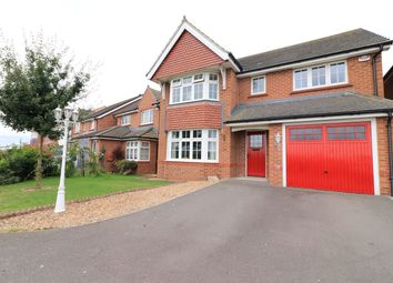 Thumbnail 4 bed detached house for sale in Spall Close, Scartho Top, Grimsby