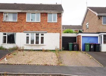 Thumbnail 3 bed semi-detached house for sale in Wharf Close, St Georges Telford