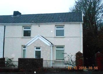 Thumbnail 2 bed semi-detached house to rent in 27 Bridgend Road, Garth, Maesteg, Bridgend.