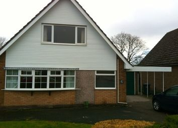 Thumbnail 3 bed detached bungalow to rent in Maple Avenue, Alsager