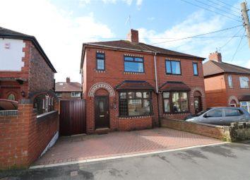 Thumbnail 2 bedroom semi-detached house for sale in Leonard Avenue, Baddeley Green, Stoke-On-Trent