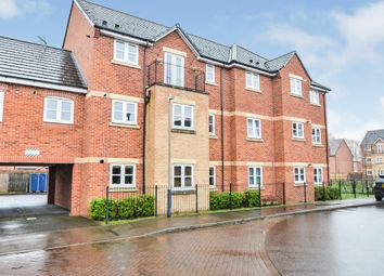 Thumbnail 2 bed flat for sale in Mica Close, Rugby