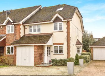 Thumbnail 4 bedroom end terrace house for sale in White Hart Close, Chalfont St. Giles, Buckinghamshire