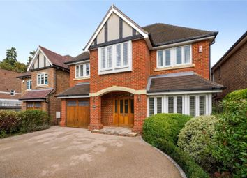 Thumbnail 5 bed detached house for sale in Castle Road, Weybridge, Surrey