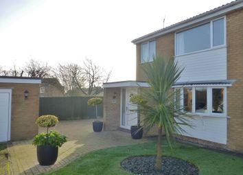 Thumbnail 3 bed semi-detached house for sale in Calder Close, Oakham