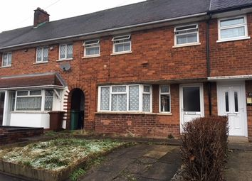 Thumbnail 3 bed terraced house to rent in Brockhurst Crescent, Walsall