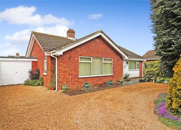 Thumbnail 3 bed detached bungalow for sale in Gilbert Close, Alpington, Norwich, Norfolk