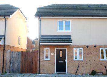 Thumbnail 2 bed semi-detached house for sale in Wesleyan Court, Lower Rainham Road