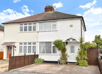 Thumbnail 2 bed semi-detached house for sale in Jubilee Crescent, Addlestone, Surrey