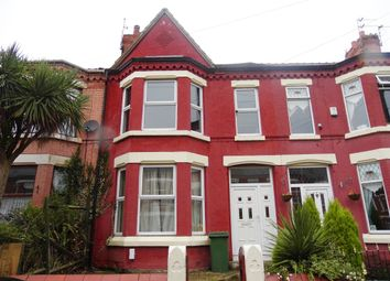 Thumbnail 4 bed terraced house for sale in Brompton Avenue, Wallasey