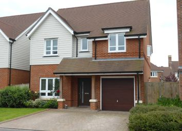 Thumbnail 4 bedroom detached house to rent in Willowbourne, Fleet, Hampshire
