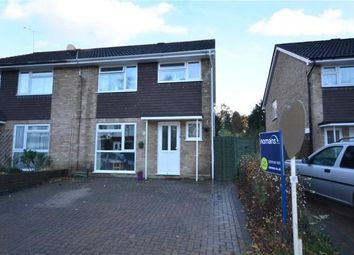 Thumbnail 3 bed semi-detached house for sale in Longmeadow, Frimley, Camberley
