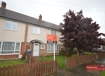 Thumbnail 3 bed terraced house to rent in Cook Road, Moreton, Wirral