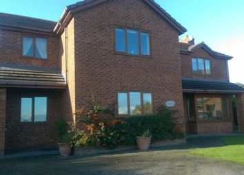 Thumbnail 4 bed detached house for sale in Maes Megann, Off New Road, Gwespyr