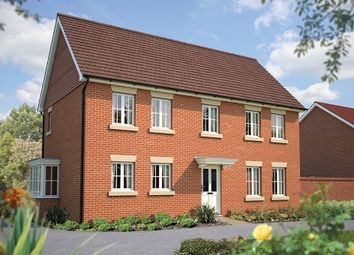 "Thumbnail 4 bed detached house for sale in ""The Montpellier"" at Winchester Road, Hampshire, Botley"