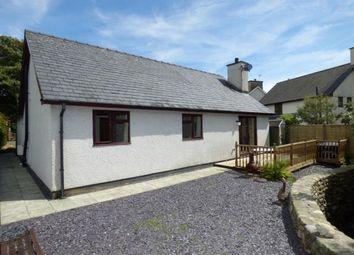 Thumbnail 3 bed bungalow for sale in Pentrefelin, Criccieth, Gwynedd