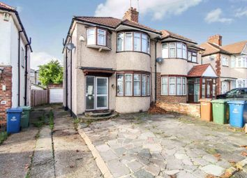 Thumbnail 3 bed semi-detached house to rent in Kenmore Avenue, Kenton, Harrow