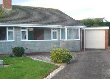 Thumbnail 2 bed semi-detached bungalow for sale in Marlborough Close, Exmouth