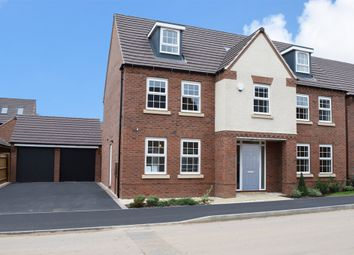 "Thumbnail 5 bed detached house for sale in ""Lichfield"" at Tamora Close, Heathcote, Warwick"