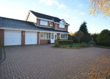 Thumbnail 4 bed detached house to rent in Wykeham Grove, Perton, Wolverhampton