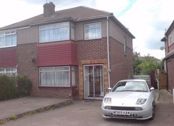 Thumbnail 3 bed semi-detached house to rent in Leyland Avenue, Enfield, Greater London
