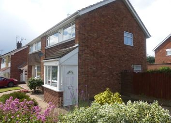 Thumbnail 3 bed semi-detached house to rent in The Nook, Whetstone, Leicester