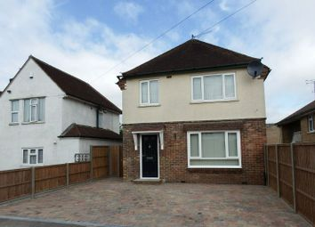 Thumbnail 3 bed detached house to rent in Kingsway, Woking