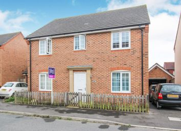 Thumbnail 4 bedroom detached house for sale in Sunflower Way, Andover