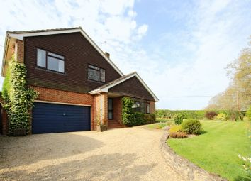 Thumbnail 4 bed detached house for sale in Groves Down, West Wellow, Romsey