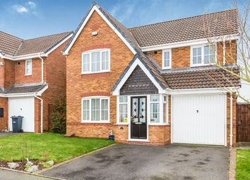 Thumbnail 4 bedroom detached house for sale in Speakers Close, Tividale, Oldbury