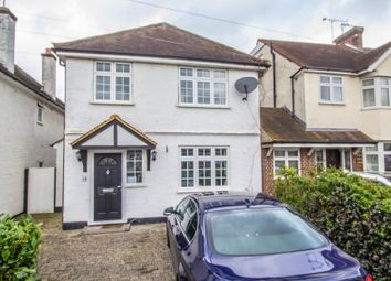 Thumbnail 4 bed detached house to rent in Leigh Road, Cobham