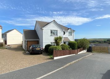 Thumbnail 3 bed detached house for sale in Bury Close, Warbstow, Launceston