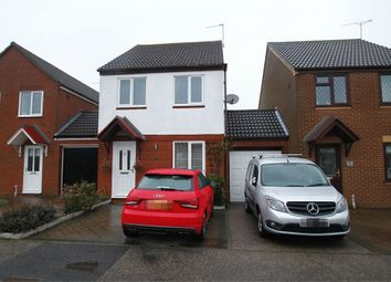 Thumbnail 3 bedroom link-detached house for sale in Banyard Close, Grange Farm, Kesgrave, Ipswich, Suffolk