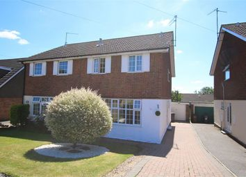 Thumbnail 3 bed semi-detached house for sale in Shelsley Drive, Parklands, Northampton