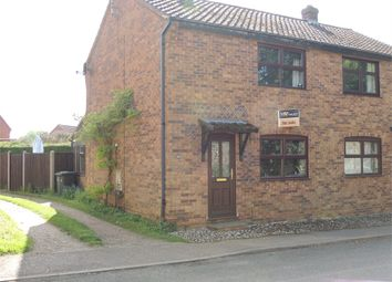 Thumbnail 2 bed semi-detached house for sale in Malthouse Row, Church Road, Wereham, King's Lynn