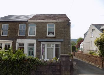 Thumbnail 3 bed semi-detached house for sale in Main Road, Bryncoch, Neath, Neath Port Talbot.