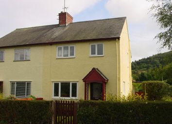Thumbnail 3 bed semi-detached house to rent in Penpentre, Talybont-On-Usk, Brecon