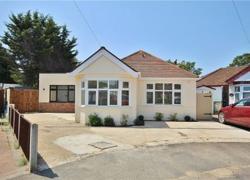 Thumbnail 4 bed detached bungalow for sale in Burleigh Gardens, Ashford, Surrey