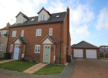 Thumbnail 3 bed end terrace house for sale in North Market Road, Winterton-On-Sea, Great Yarmouth