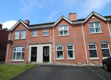 Thumbnail 3 bed terraced house for sale in Milfort Avenue, Dunmurry, Belfast