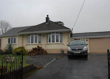 Thumbnail 3 bed detached bungalow for sale in Wernoleu Road, Ammanford
